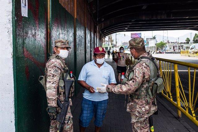 El Gobierno de Perú declaró el estado de emergencia sanitaria el pasado 15 de marzo.