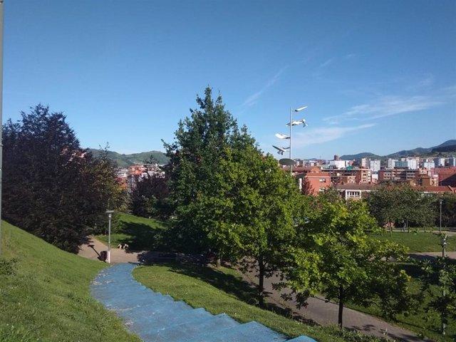 Jornada soleada en Euskadi.