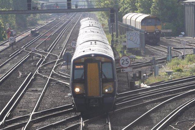 Estación de tren de Tonbridge, en Kent