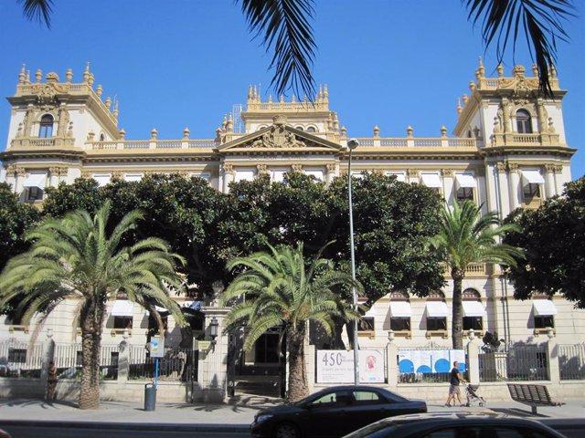 El Palacio Provincial de la Diputación de Alicante.