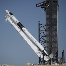 Misión Demo 2 de la nave Crew Dragon de Space X