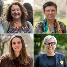 Mae de la Concha, Antònia Jover, Lucía Muñoz y Sonia Vivas.