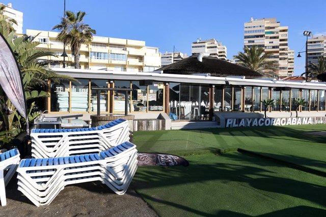 Hotels  tancats a la platja Playamar a Torremolinos