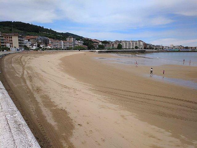 Playa de Ostende de Castro Urdiales