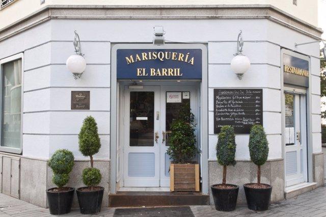 Restaurante El Barril en Madrid del Grupo Oter