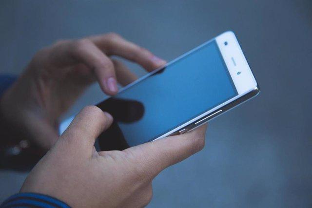 Usuario de un smartphone