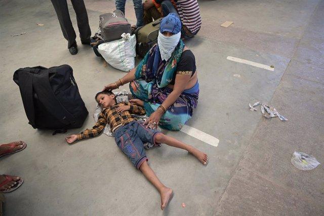 Coronavirus.- India confirma un récord diario de contagios con más de 6.000 nuev