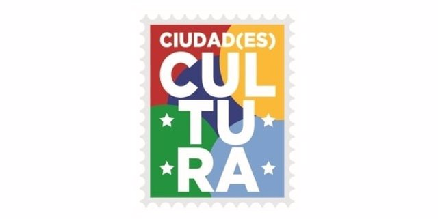 Logotipo de la iniciativa 'Ciudade(es) cultura', lanzada conjuntamente por los ayuntamientos de Barcelona, Buenos Aires, Bogotá y Mexico