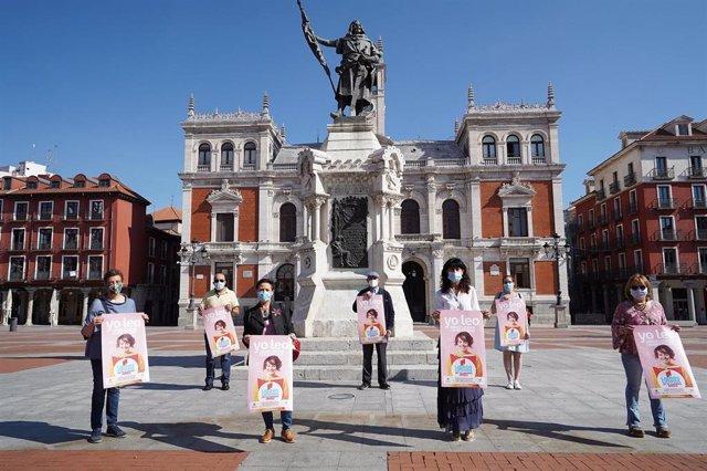 Presentación de la campaña del Ayuntamiento de Valladolid y el Gremio de Libreros.