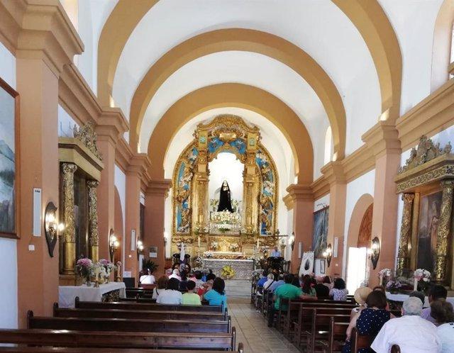 Iglesia de Chandavila, en La Codosera