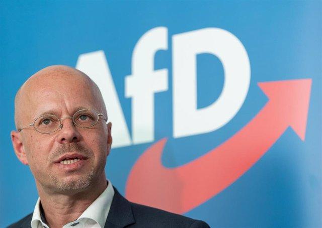 El diputado de Alternativa para Alemania Andreas Kalbitz