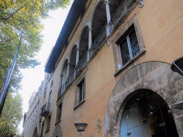 Imagen de recurso de la fachada del Casal Solleric