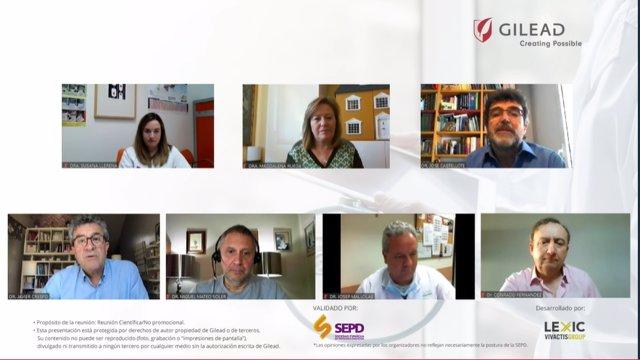 """Virtual Summit con especialistas médicos """"Telemedicina: una oportunidad en tiempos de COVID-19"""", organizado por Gilead"""