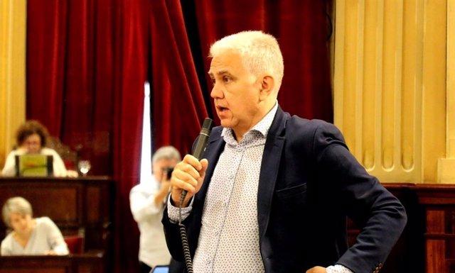 El diputado de El PI Josep Melià.