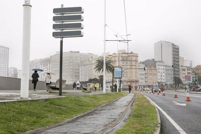 A Coruña dispondrá de un carril específico para corredores