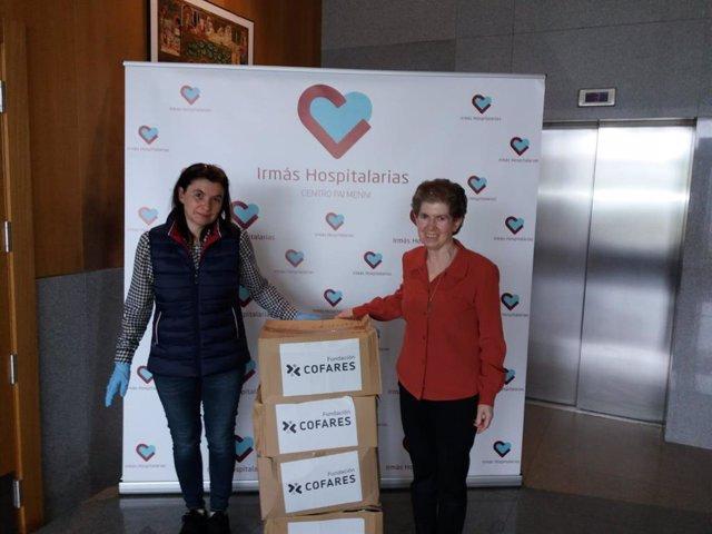 La Fundación Cofares ha colaborado con el Centro Pai Menni de las Hermanas Hospitalarias de Betanzos (A Coruña) con motivo de la pandemia de COVID-19