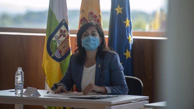 Presidenta del Gobierno de La Rioja, Concha Andreu