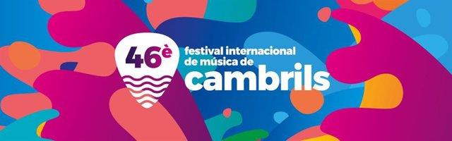 Cartel de la 46 edición del Festival Internacional de Música de Cambrils (Tarragona), cancelada por la crisis del coronavirus