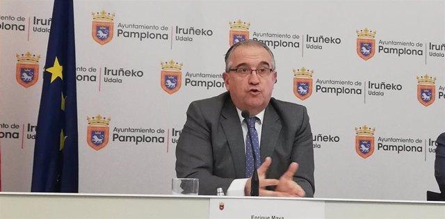 Enrique Maya, alcalde de pamplona