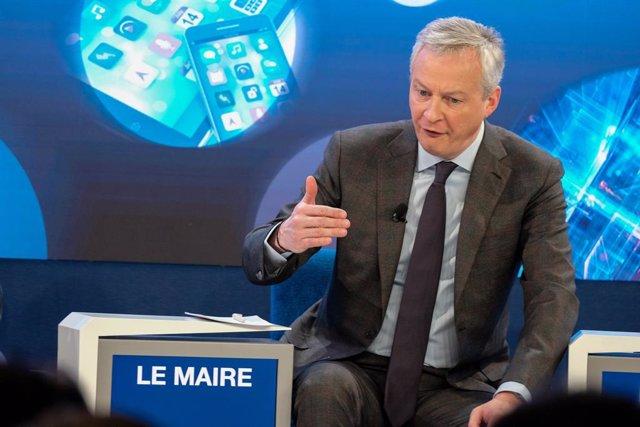 El ministro de Economía francés, Bruno Le Maire.