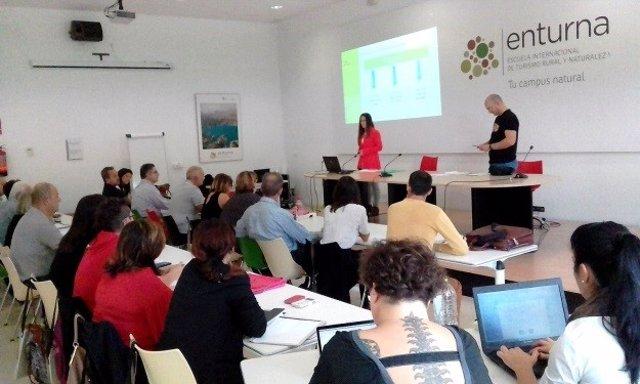 Curso en la Escuela Internacional de Turismo Rural de la Diputación de Granada