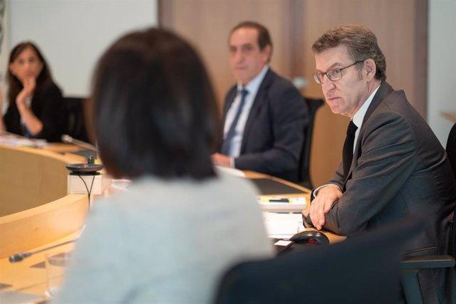 O Titular Do Goberno Galego Preside A Reunión Do Consello Da Xunta