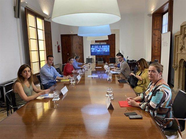 Reunión del Consejo rector del Ibassal