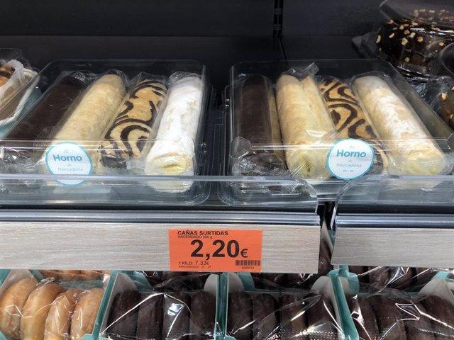 Mercadona incorpora en sus tiendas un nuevo producto de Dulces Olmeda