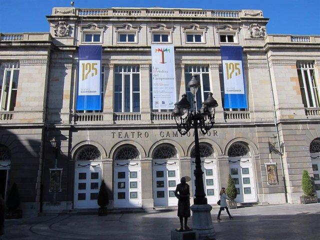 El Teatro Campoamor de Oviedo en una imagen de archivo.