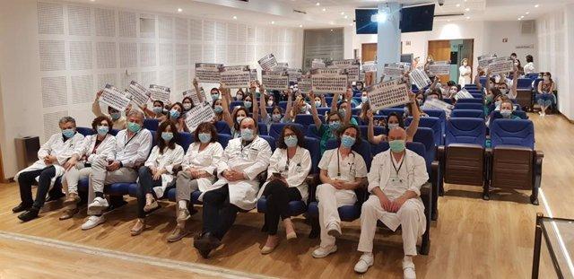 Despedida del Hospital Puerta del Mar a residentes que han finalizado su formación