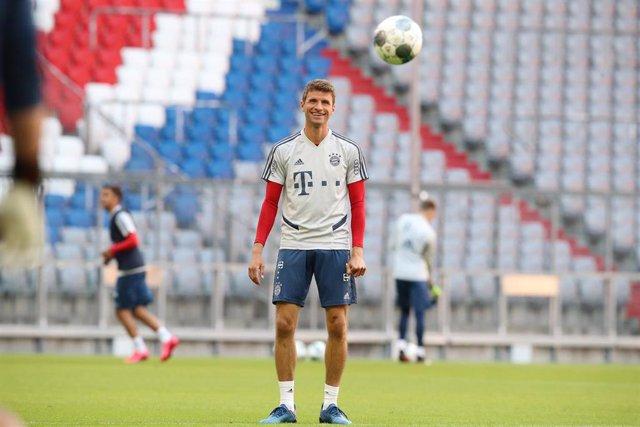 El jugador del Bayern Múnich Thomas Müller