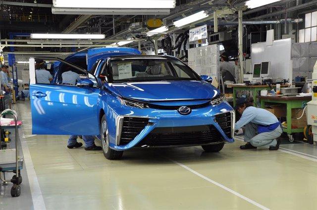 Fábrica de Toyota.