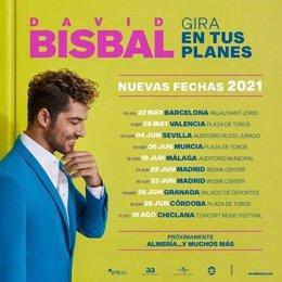 Gira 'En tus planes', de David Bisbal