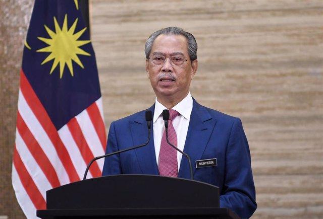 Muhyidin Yasin, primer minsitro de Malasia.