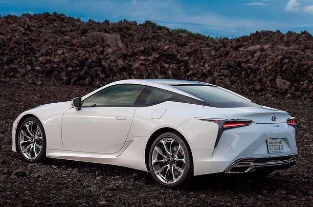 Imagen del Lexus LC 500h.