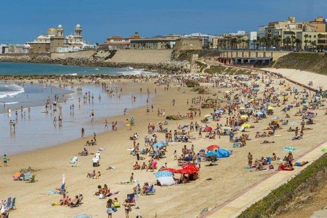Playa de Cádiz capital