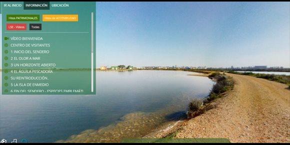 1. Una ruta virtual por Marismas del Odiel o fotografías astronómicas, propuestas de la Fundación Descubre para casa