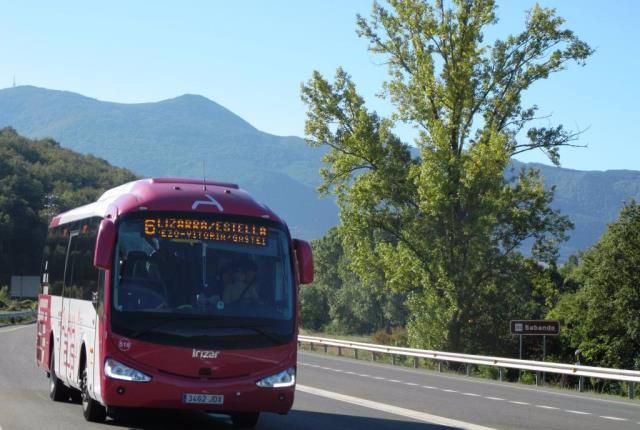 Autobús interurbano de Álava.