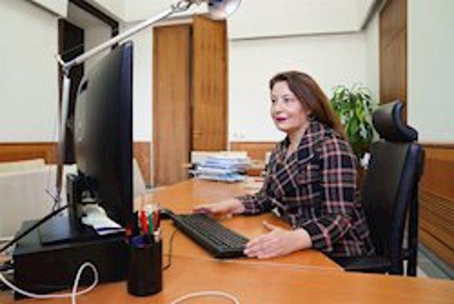 La consejera de Agricultura, Carmen Crespo, en una imagen de archivo.