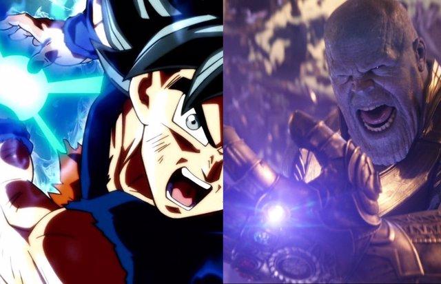 Goku vs Thanos, ¿Quién es más poderoso?