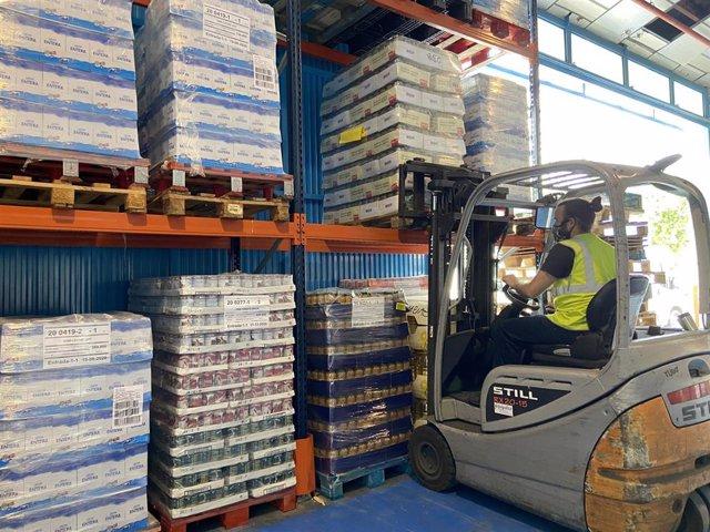 Endesa adquiere 275.000 kilos de alimentos no perecederos para el Banco de Alimentos de Andalucía