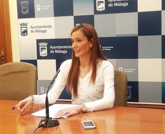 La portavoz del Grupo Municipal Popular en el Ayuntamiento de Málaga, Elisa Pérez de Siles, en una imgen de archivo