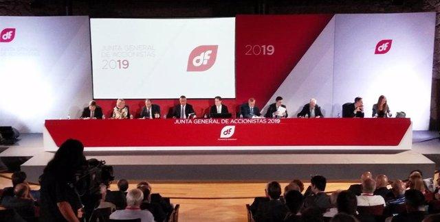 Junta General de Accionistas de Duro Felguera 2019.