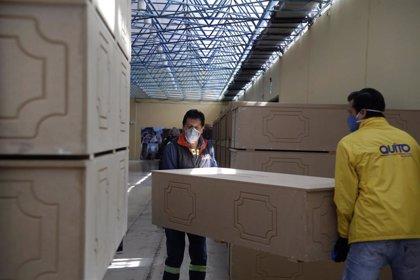 Coronavirus.- Ecuador aprueba reanudar los vuelos nacionales mientras supera los 3.000 fallecidos por coronavirus