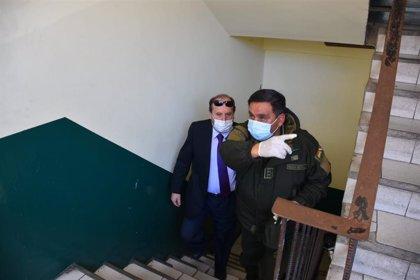 Coronavirus.- Retrasada la audiencia del exministro de Salud boliviano por la detención del juez