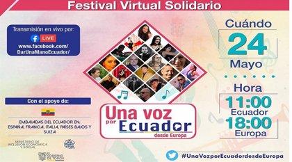 Veinte músicos ecuatorianos de toda Europa celebran el domingo un concierto on-line contra la Covid-19