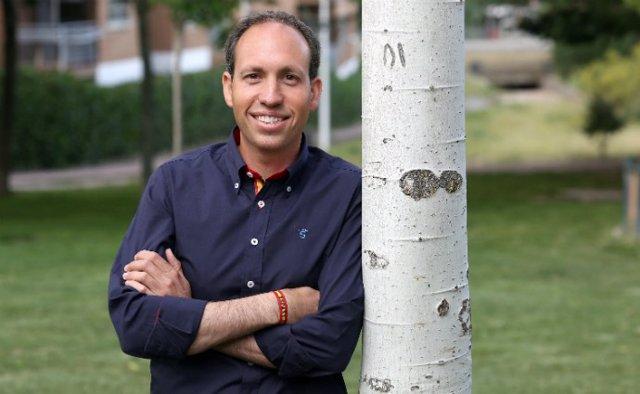 Presidente de Vox Toledo , Daniel Arias
