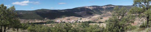 Vista de Tragacete (Cuenca)