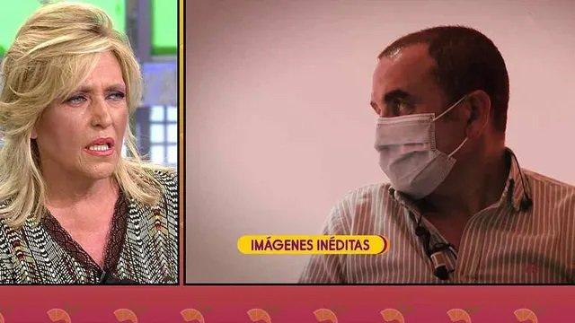 Lydia Lozano y Antonio Montero se enfrentan en Sálvame