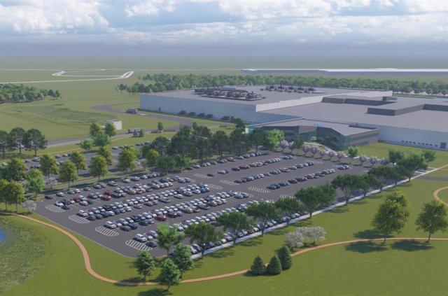Economía/Motor.- Ultium Cells (General Motors) inicia la construcción de una pla